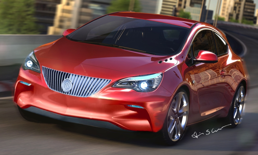 Buick Getting A Version Of The Opel Astra Gtc May Get Astra Based